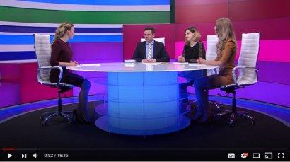 Всеукраинская олимпиада по социологии. В студии — Денис Яковлев, Елена Заец и Александра Людовик