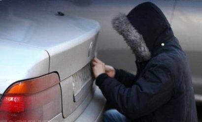 Полиция задержала похитителей автономеров