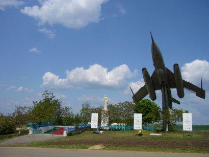 В с.Мариновка  восстановили мемориал погибшим в годы Великой Отечественной войны