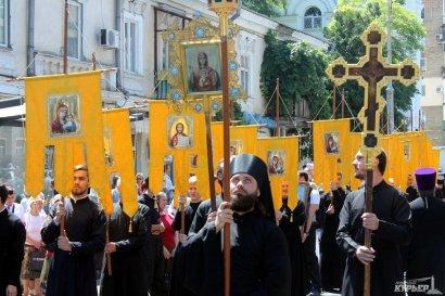 В связи с возможными провокациями  отменили крестный ход на 9 мая