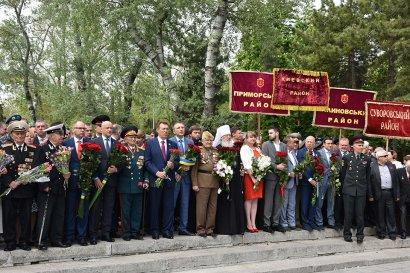 Одесса празднует День Победы – торжественные мероприятия прошли на Аллее Славы