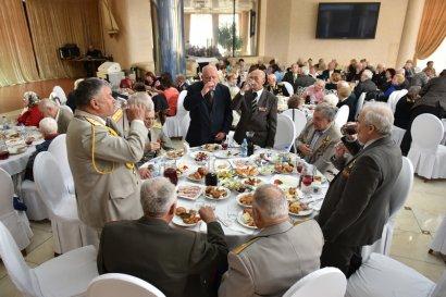 В Одесской Юракадемии прошел праздничный концерт для ветеранов в честь Дня Победы