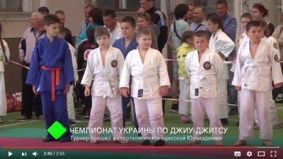 В спорткомплексе Юракадемии прошел чемпионат Украины по джиу-джитсу