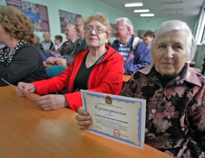 Пенсионеры Одессы активно осваивают компьютерные технологии