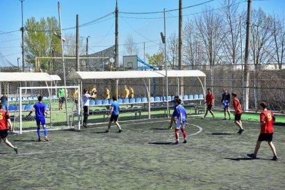 В Одессе прошел турнир по футболу среди школьников