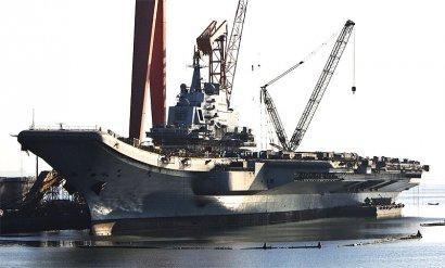 Двойник украинского «Варяга» украшает китайские ВМС