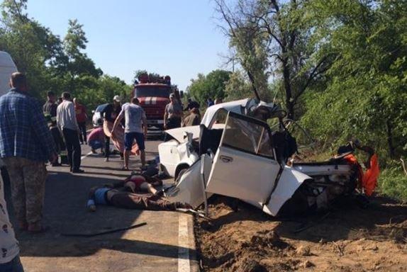 ДТП вОдесской области: автомобиль разорвало начасти, есть жертвы