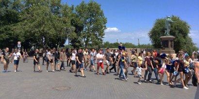 «Марш чемпионов» прошел накануне в Одессе