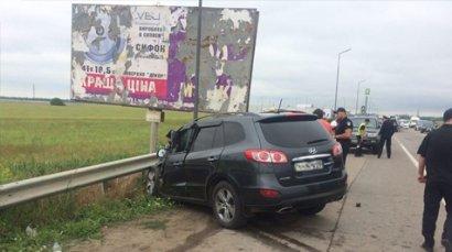 ДТП в районе «7-го километра». Столкнулись микроавтобус  и внедорожник