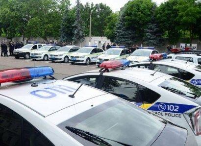 Одесские полицейские получили сразу 80 новых автомобилей