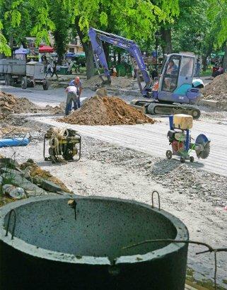 В Одессе продолжается реконструкция улицы Преображенской
