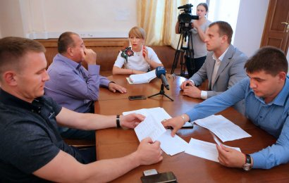 Фракция Украинской Морской партии обсудила социальные вопросы жизни города