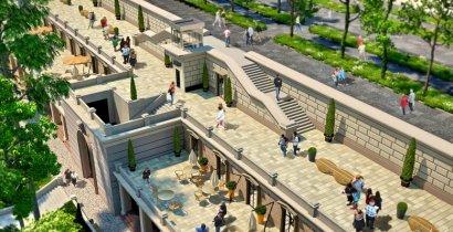 Реконструкцию Греческого парка планируют завершить в 2018 году