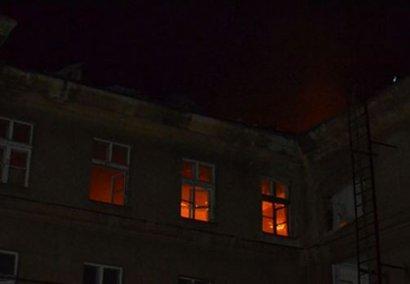 Сильный взрыв произошел в здании бывшего факультета тыла Одесского института сухопутных войск