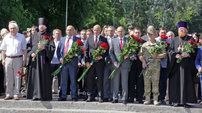 В Одессе почтили память жертв войны