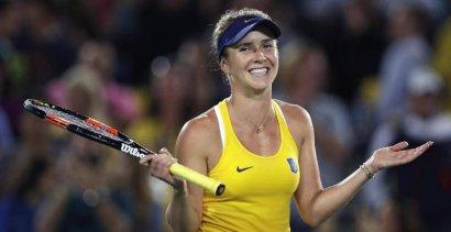 Одесская теннисистка Элина Свитолина заняла  2-ю строчку в чемпионской гонке WTA