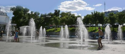 «Ланжерон» начинается с фонтана