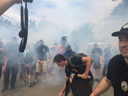 Одесские радикалы провели новое нападение