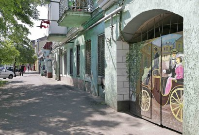 «Заповедник стрит-арта» на Мясоедовской