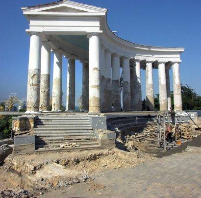 Воронцовская колоннада: сюрпризы за сюрпризами