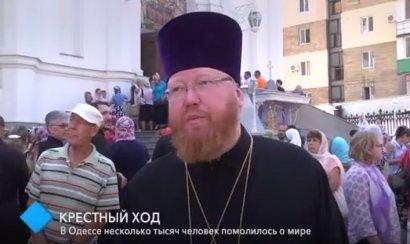 Крестный ход: в Одессе несколько тысяч человек помолилось о мире
