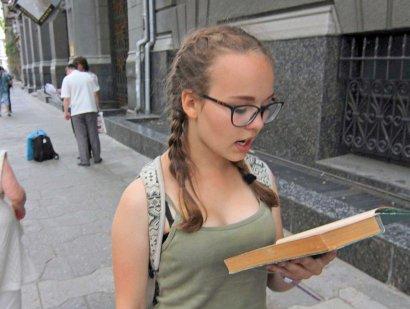 Сотни одесситов одновременно читали Бабеля