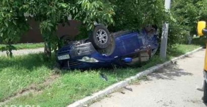 ДТП с участием легковушки, грузовика и маршрутки произошло в Измаиле