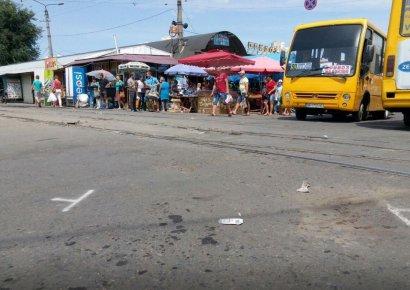 В Одессе под колесами маршрутки погиб человек