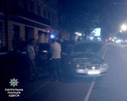 Тройное ДТП произошло нынешней ночью в Одессе