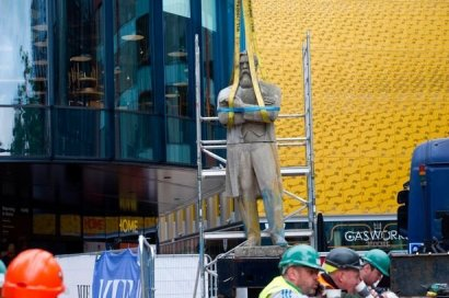 Памятник Фридриху Энгельсу из-под Полтавы установили в Манчестере