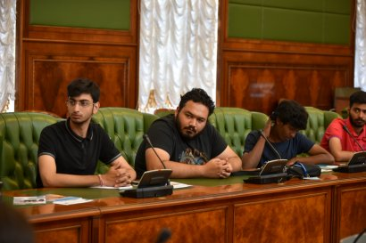 Одессу посетила делегация студентов-юристов из Индии