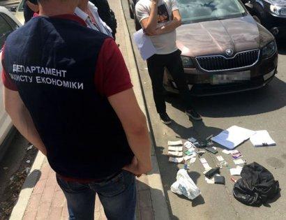 В Киеве налоговика задержали на взятке в 260 тысяч