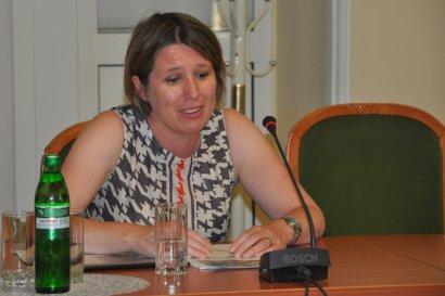 Посол Великобритании в Украине Джудит Гоф проверила работу Одесского порта