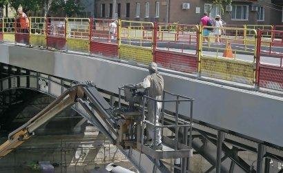 На мост Коцебу возвращаются аутентичные чугунные решётки