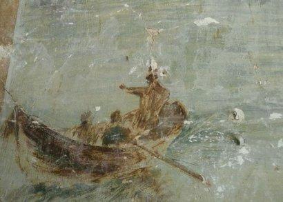 Старинная фреска найдена во время ремонтных работ дома в центре Одессы
