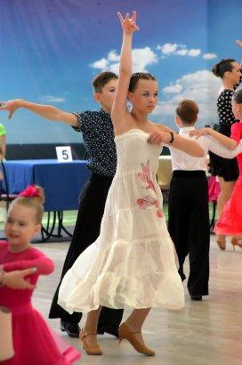В Одессе прошел международный фестиваль по спортивным бальным танцам  «Black sea open cup»