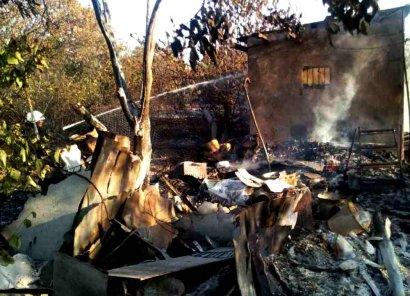 Масштабный пожар произошел накануне в Одесской области