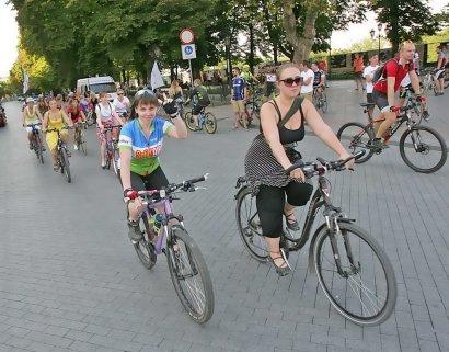 Девичий велопробег