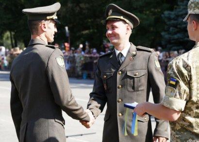 Из ворот Одесской Военной Академии вышли 40 молодых офицеров