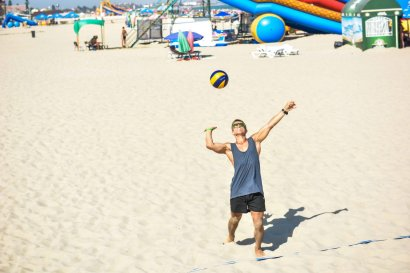 В Затоке прошли Летние игры по пляжным видам спорта