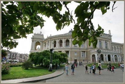 Театральная площадь Одессы