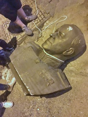 Националисты «повесили» маршала Жукова