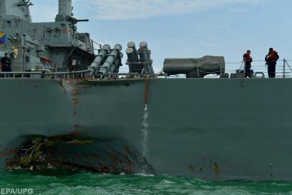Найдены тела членов экипажа эсминца США, столкнувшегося с торговым судном