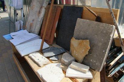 Фрагменты трех сотен надгробных плит и другие исторические «подарки»