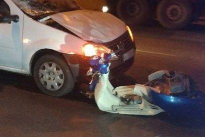 Еще одно ДТП с участием двухколесного транспорта произошло накануне в Одессе