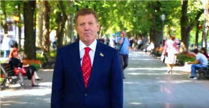 Сергей Кивалов поздравил одесситов с Днём города