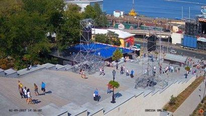 Ко Дню города установлены новые видеокамеры с видом на достопримечательности Одессы