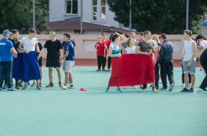 Студенты Одесской Юракадемии и МГУ отметили День спорта