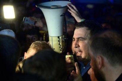 В Государственной пограничной службе Украины рассказали о запрете применять оружие против Саакашвили