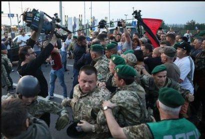 Во время прорыва Саакашвили на Украину пострадали 17 силовиков